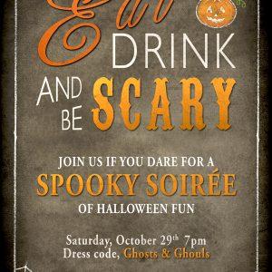 Aylesbuy Halloween Flyer
