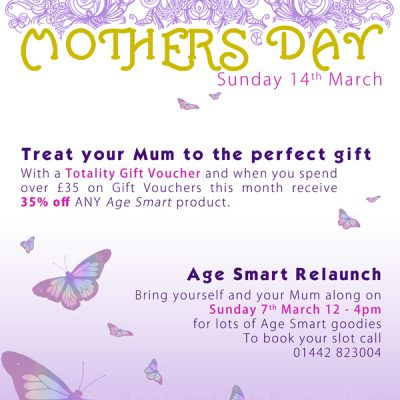 Day Spa Mothers Day Poster