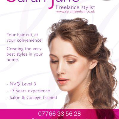 Aylesbury Hairdresser Flyer