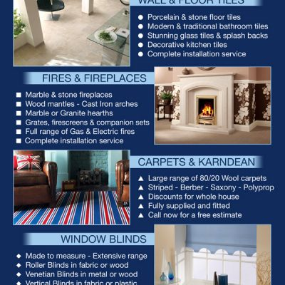 Flooring & Carpet Flyer