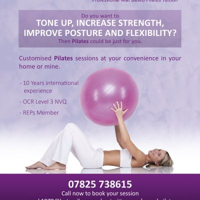 Pilates Flyer High Wycombe