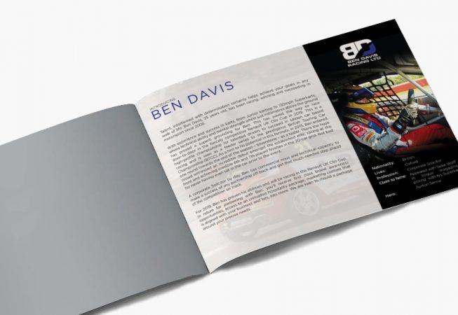 Ben Davis Racing Prospectus