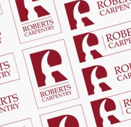Roberts Carpentry Logo Design