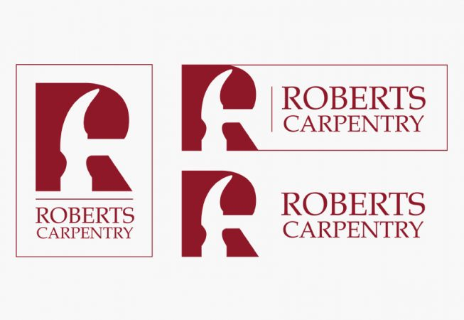 Roberts Carpentry Logo Design