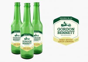 Soft Drinks Bottle Label Design