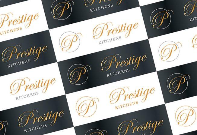 Prestige Kitchens Logo design